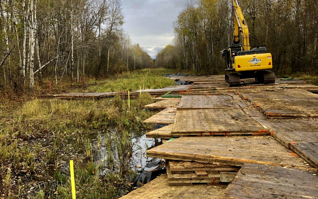 Swamp Mat Solutions with Vortex Energy Services